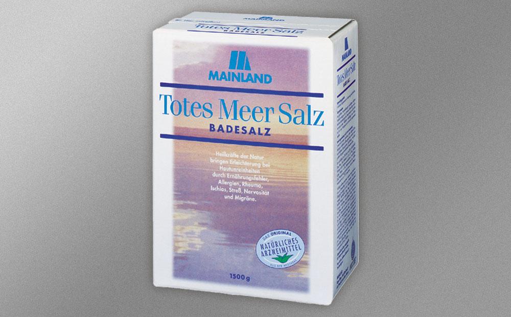 Verpackung TMS – Totes Meer Salz